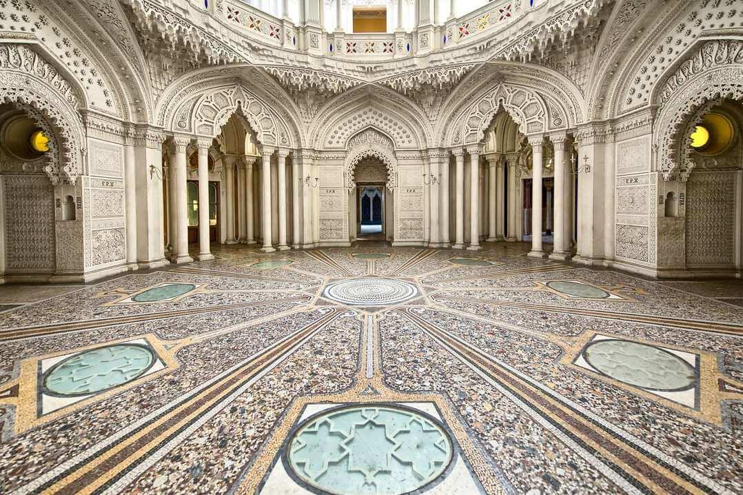 Mosque hall